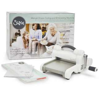 Sizzix Big Shot Die Cutting Machine - Gray & White