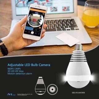 Cctv Wifi in Bulb