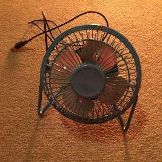 Fan with USB