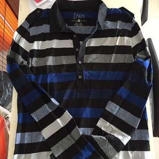 Zara Men Long Sleeves Shirt