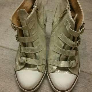 Ash Heels Sneaker 矮踭 波鞋 金色 Size37 二手