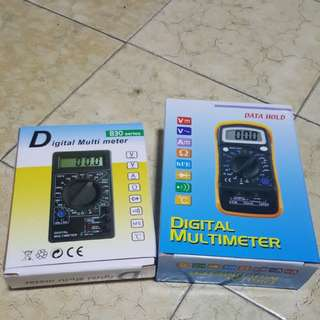 Brand New Digital LCD Multimeters Voltmeter