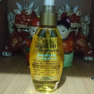 OGX Argan Oil of Morocco WEIGHTLESS Healing Dry Oil