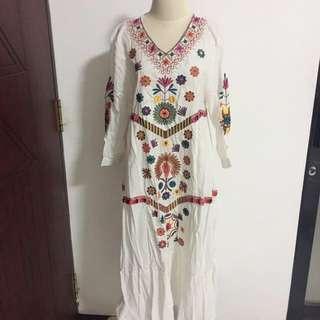 bordir dress beli di morocco