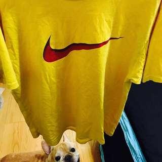 Vintage古著 Nike 打勾 短袖上衣