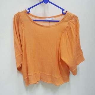 Zara Orange Long Sleeve