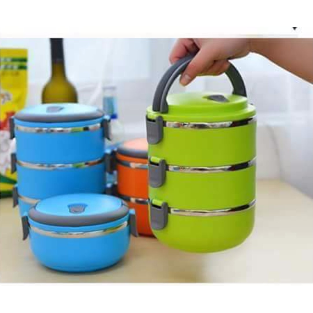 3layer lunch box