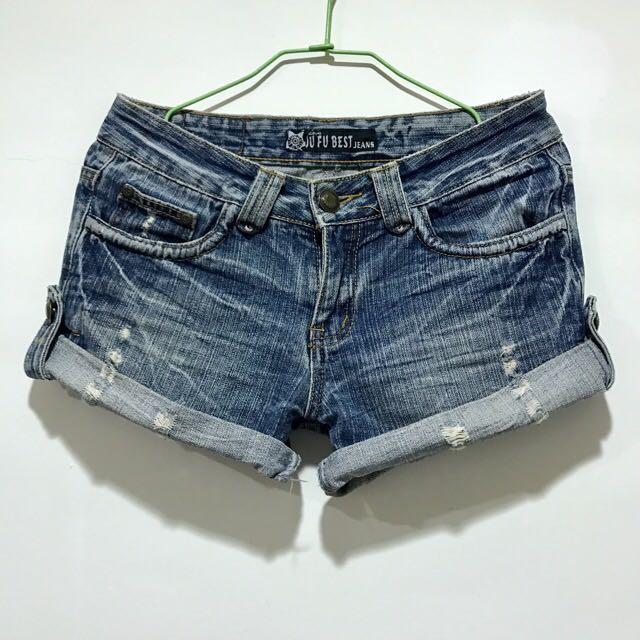 原價890✨超美刷破牛仔短褲✨低價出清
