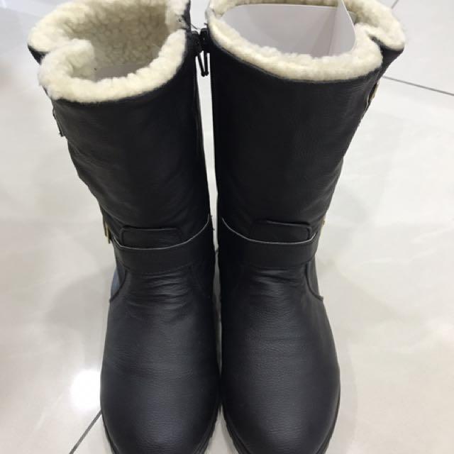 全新中性馬靴