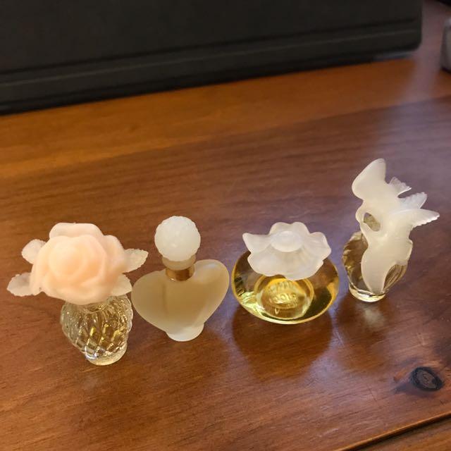 造型瓶香水(四入)