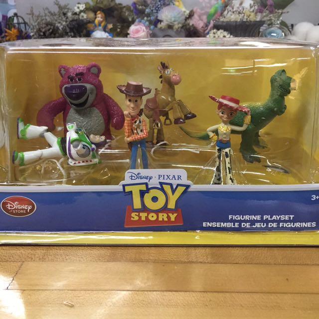玩具總動員 公仔 胡迪,巴斯光年,熊抱哥,紅心,雀絲,爆爆龍