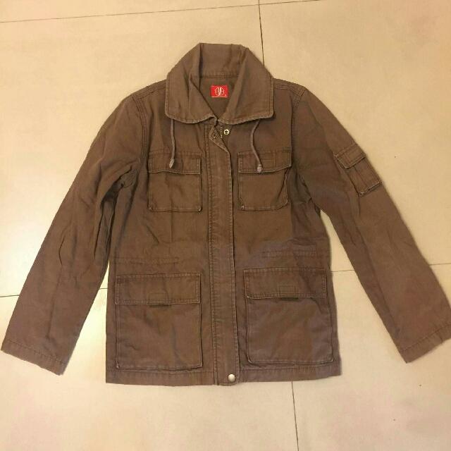 喜新厭舊 你所見過保存最好的二手衣 EMA工裝外套 卡其