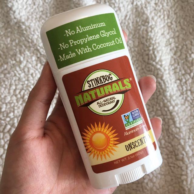 All natural deodorant (stinkbug naturals)
