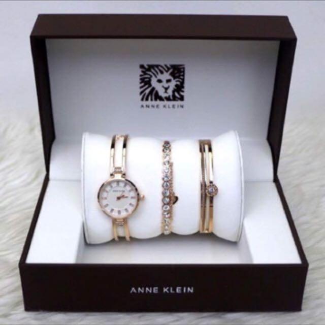 Anne Klein Watch Set AUTHENTIC