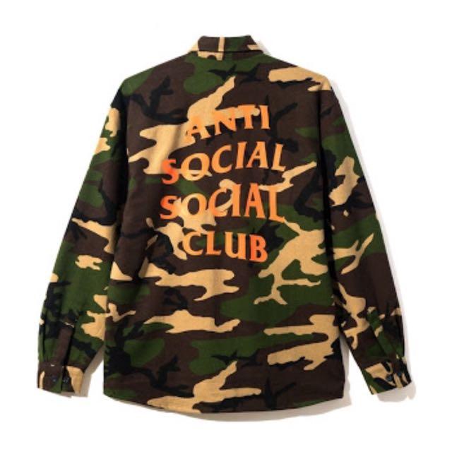 Anti Social Social Club - The Cerulean Flannel (XL)
