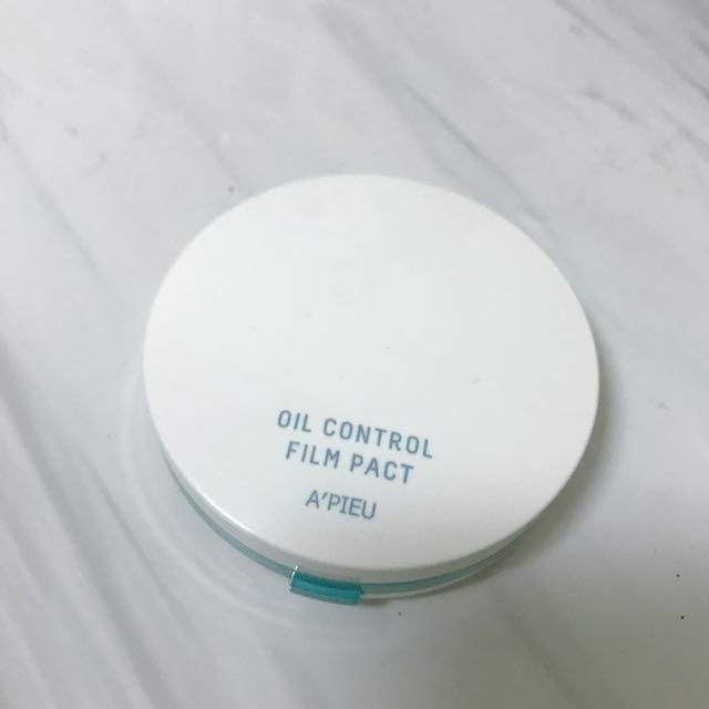 Apeiu 控油礦物蜜粉餅