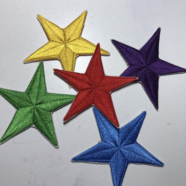 Assorted Star Patch Bundle