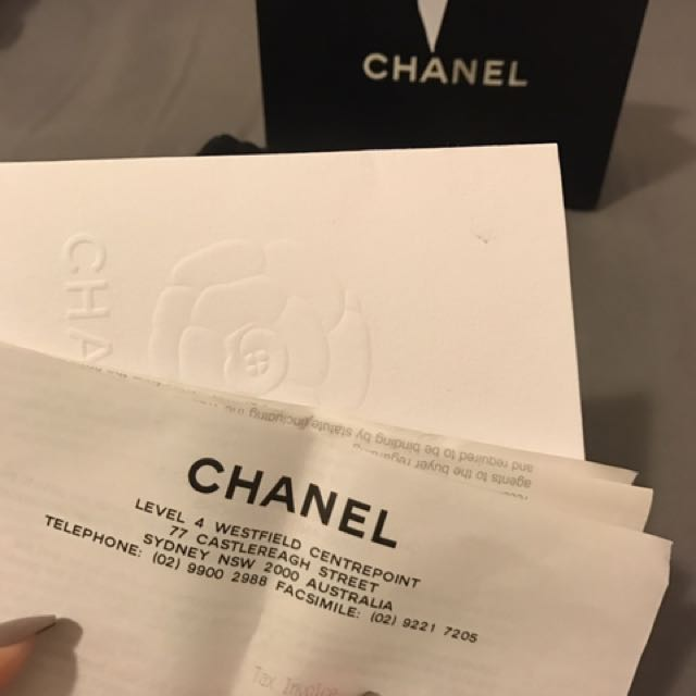 Authentic Cc Chanel Earrings