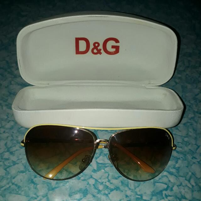 AUTHENTIC D&G SUNGLASSES