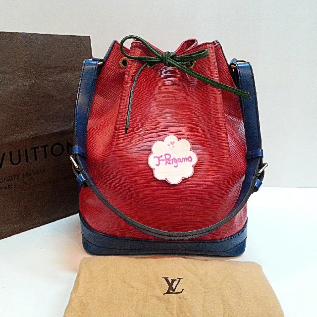 Authentic Vintage Louis Vuitton Epi Leather NoeTri colour {{ Only For Sale }} *** No Trade *** {{ Fixed Price Non-Neg }} ** 定价 **