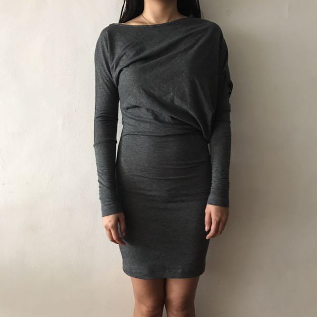BCBG Max Azria asymmetrical designer dress