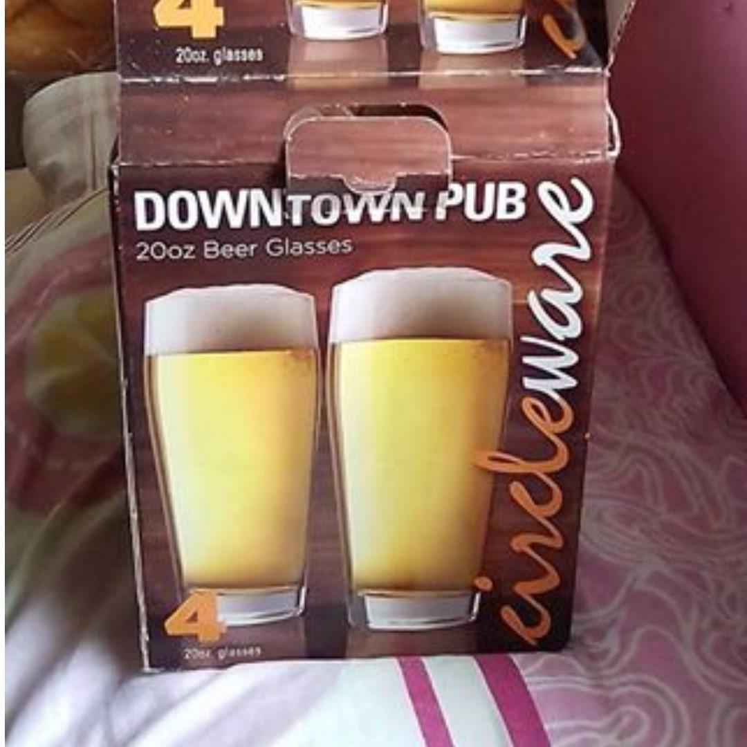 BEER GLASSES (SET)