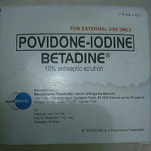 Betadine 7.5ml