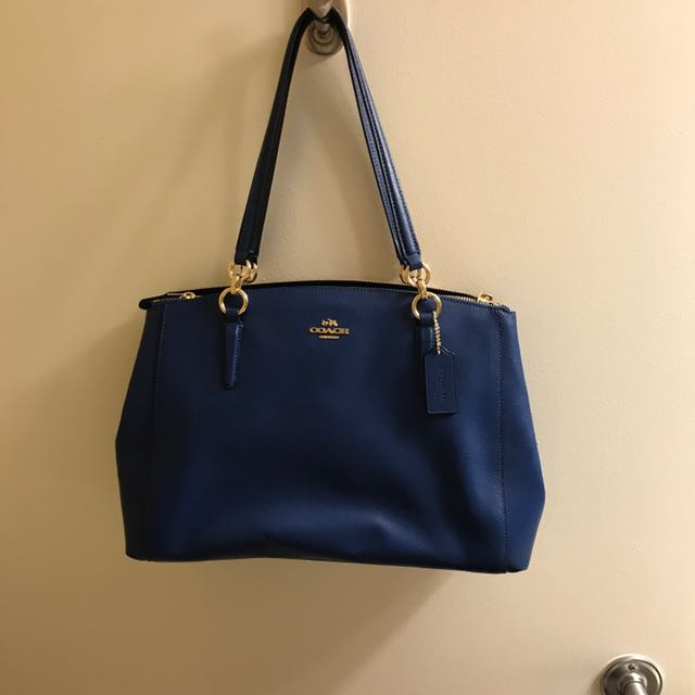 Blue Coach Bag