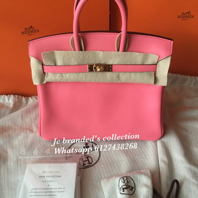 4a2a7fb13cf2 BN.hermes B25 Rose Azalee Swift Stamp A Ghw