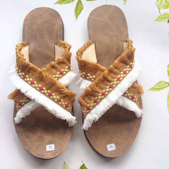 Boho X Sandal 2D