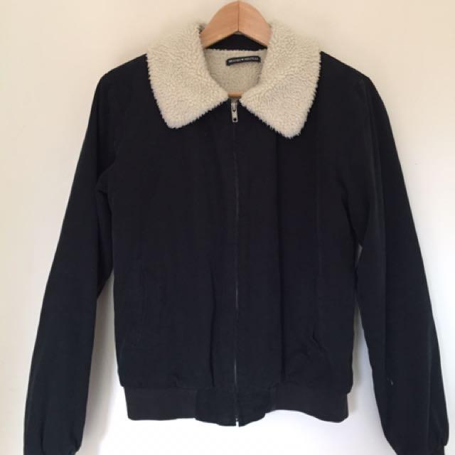 BRANDY MELVILLE Sherpa bomber jacket