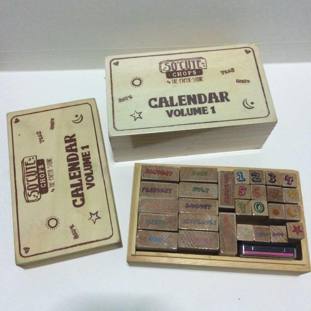 Calendar Stamp Set