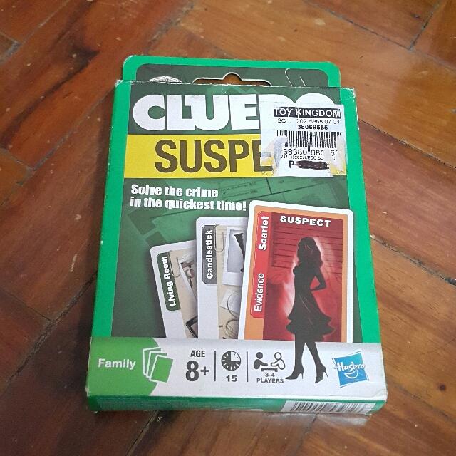 Cluedo Card Game