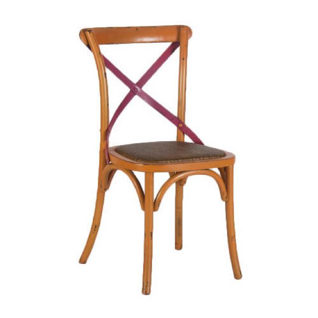 Cross Back Chair , Solid Wood , Do Not Compromise With
