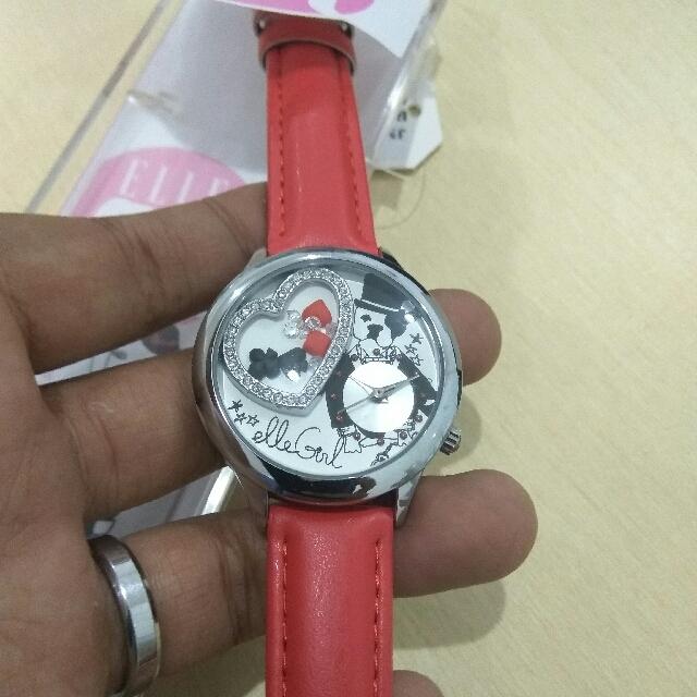 CUCI GUDANG : ELLE  GIRL RED GW40110502X (ORIGINAL)