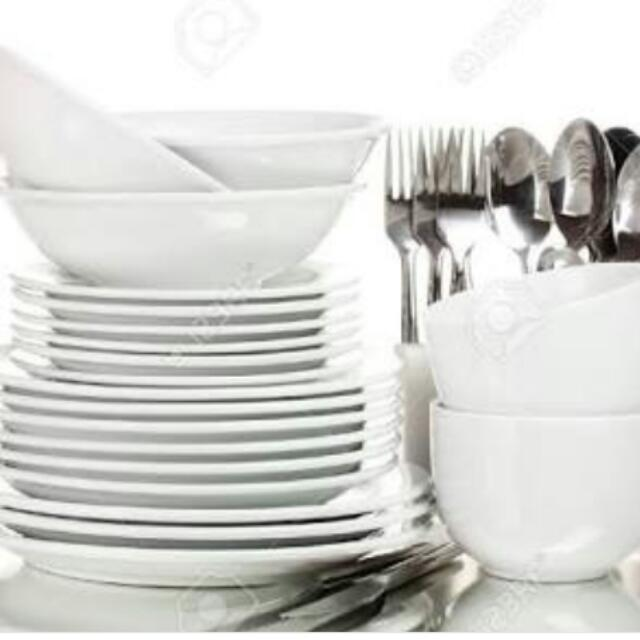 Dishes Cutlery All Must Go