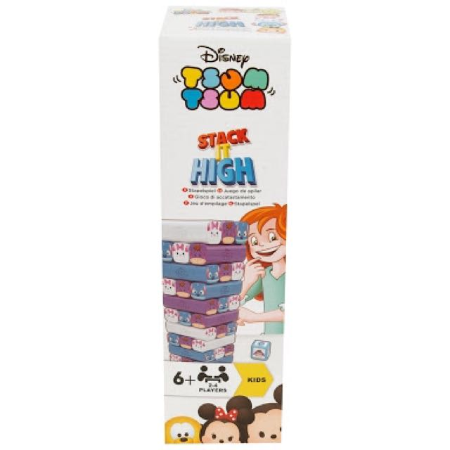 Disney TsumTsum stack it high zenga block