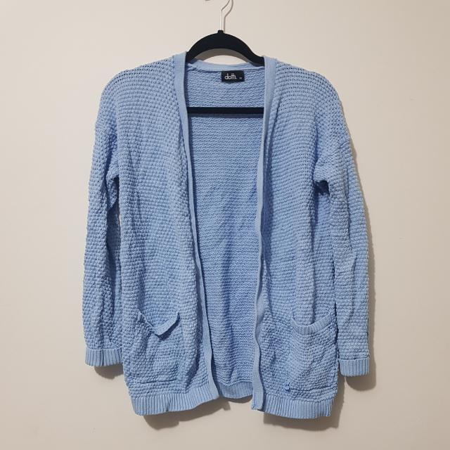Dotti Baby Blue Cardigan Size XS Fits 6-8