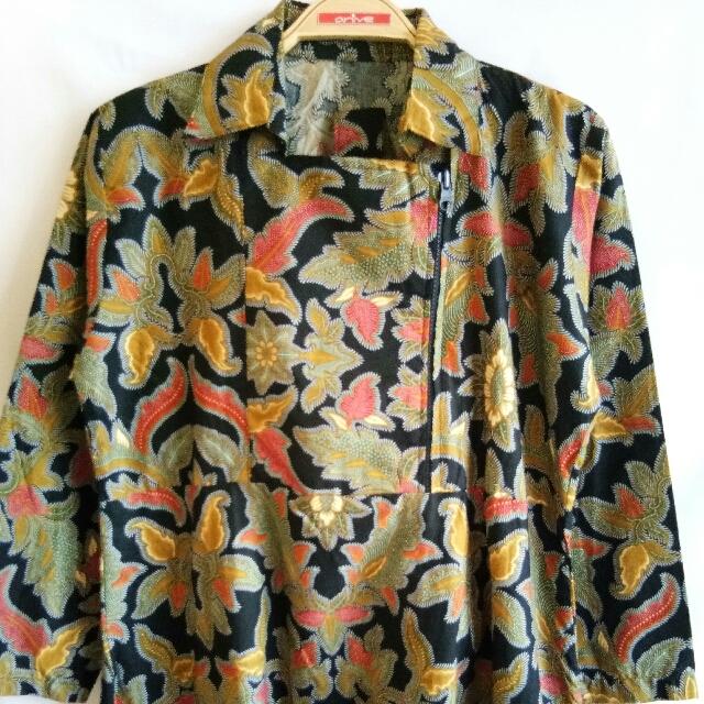 Dress Batiik Panjang