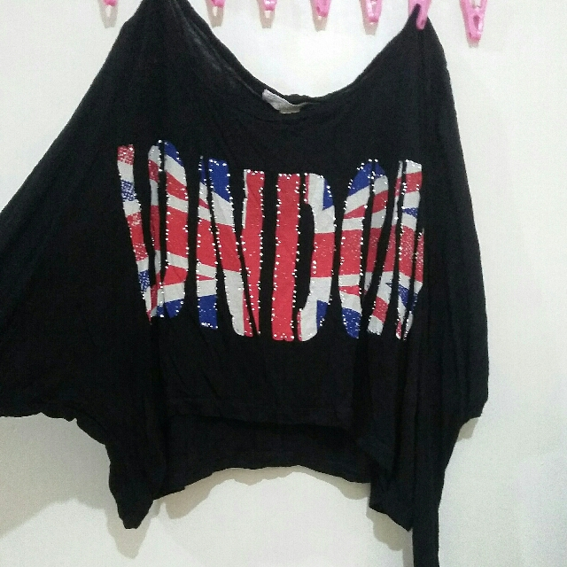 Forever 21 Crop London Top