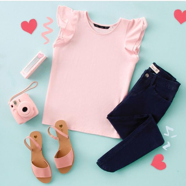 Forme Baby Pink Top