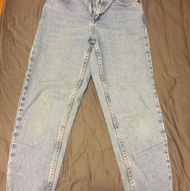 Frank And Oak Mom Jeans