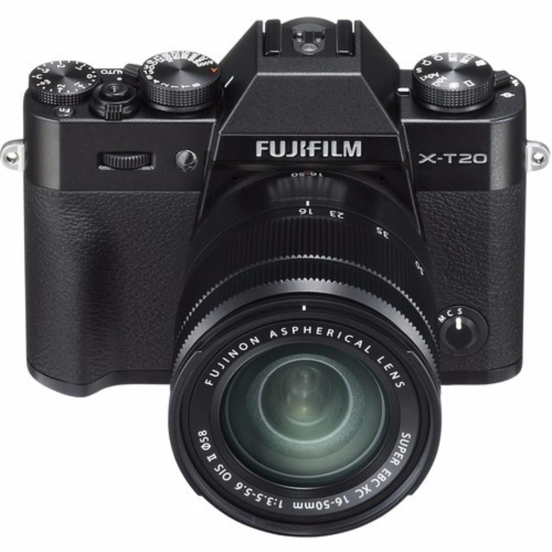 Fujifilm X-T20 with 16-50mm F3.5-5.6