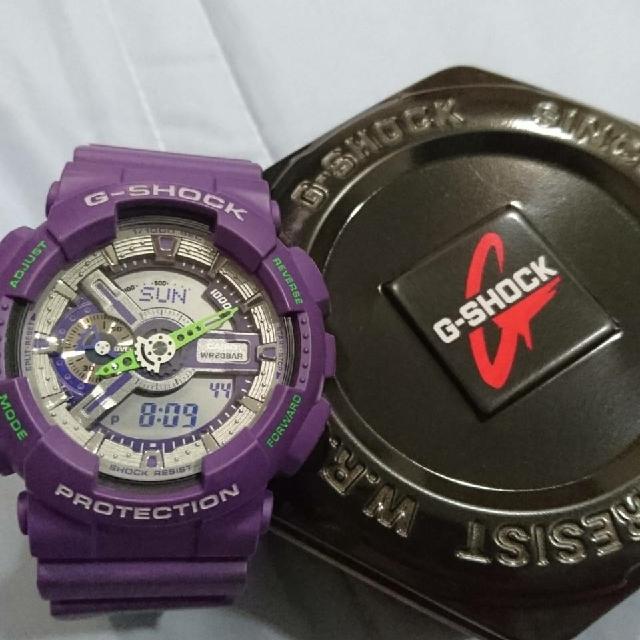 G SHOCK 紫 8成新