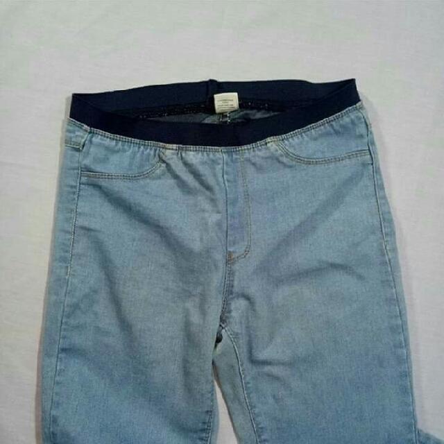 Garterized Jeans
