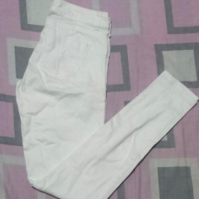 Generra White Pants
