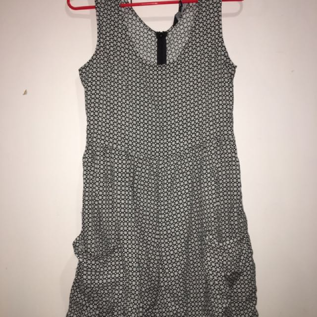 Glassons black and white Playsuit