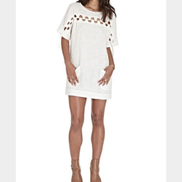 Goddess Of Babylon White Dress
