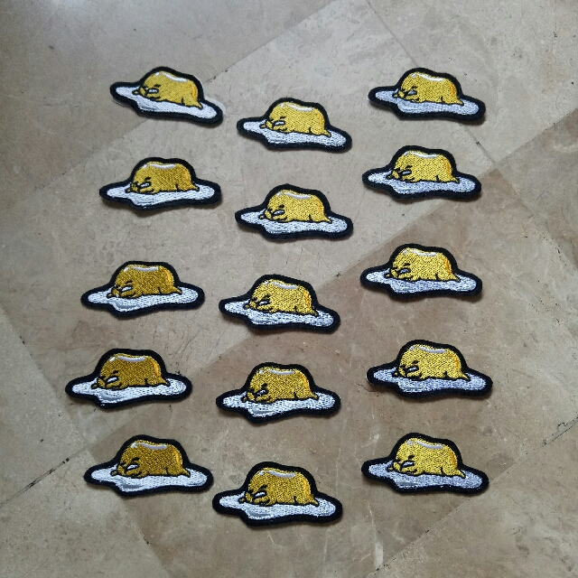 Gudetama Iron-on Patches