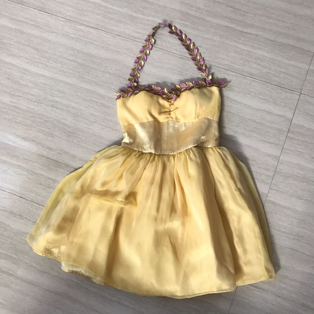 Halter Mini Tulle Dress